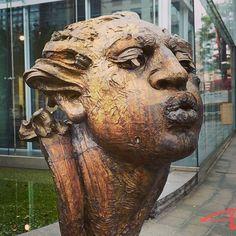#javiermarinescultor, #javiermarin, #terrenobaldioarte, #escultura, #sculpture, #bronce, #bronze, #lostwaxbronze, #cabezadehombre, #art