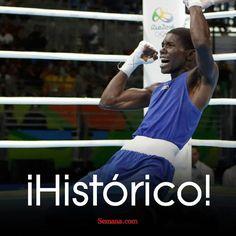 Yuberjen Martínez venció al campeón del mundo en la categoría 46-49 kilogramos en #boxeo y luchará por la medalla de oro el próximo domingo. El antioqueño aseguró medalla de plata. #Río2016 🇨🇴