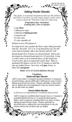 Dairy free biscuits - Kids with food allergies love these biscuits with honey or jam. Old Recipes, Vintage Recipes, Bread Recipes, Cooking Recipes, Simple Recipes, Kitchen Recipes, Drink Recipes, Italian Recipes, Gourmet