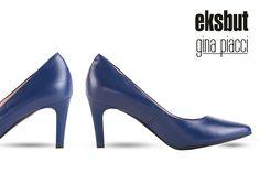 Odcień niebieskiego dodaje czółenkom charakteru wyjątkowości i oryginalności.  #eksbut #shoes #highheels #style #fashion #moda #buty #kobieta