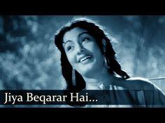 Jiya Beqarar Hai Chhayee Bahar - Nimmi - Barsaat - Bollywood Classic Songs - Lata Mangeshkar Hits - YouTube