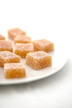 quince lemOn & ginger jellies