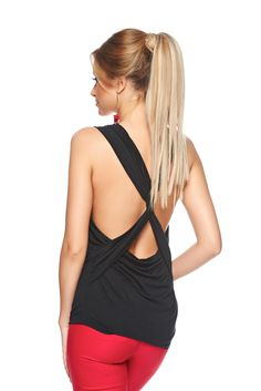 PrettyGirl Simpathy Black Top Shirt, women`s top shirt, embellished accessories, bow shaped accessory, elastic fabric