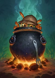 Card Name: Cauldron Artist: Matt Dixon