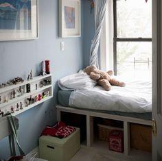 @Shannon Rathke I feel like Celia would LOVE a shelf like this for some reason.