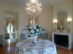 Reception area, Carolands Chateau, Hillsborough, California