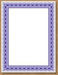 amazing beautiful blue borders design