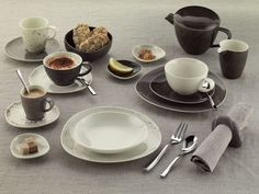 SCHÖNWALD: New POTTERY Dinnerware Expands Offering Even More Combinations | TabletopJournal