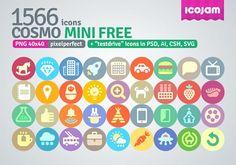 1566 cosmo mini icons бесплатно на seedraft.ru