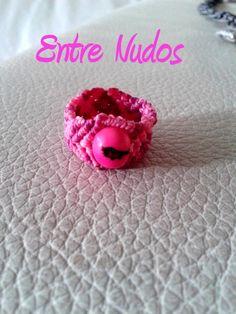 #anillo #pink #rosa #abalorio #new