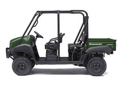 New 2017 Kawasaki Mule™ 4010 Trans4x4® ATVs For Sale in Missouri. The Mule™ 4010 Trans4x4® Side x Side is a versatile mid-size two to four-passenger workhorse that's capable of both putting in a hard day of work as well as touring around the property. 617 cc fuel-injected, V-twin engine produces reliable performance Convertible design lets you easily change from a four-seat crew mover to a two-seat cargo hauler, without the need for tools Selectable 2WD or 4WD with