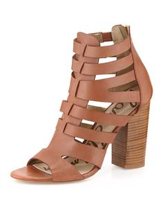 Sam Edelman Yazmine Leather Cage Sandal chapter 17