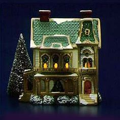 "Department 56: Products - ""Ramsey Hill House"" - View Lighted Buildings"