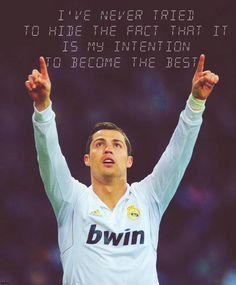 Why hide it? Soccer Player Quotes, Soccer Players, Cristano Ronaldo, Living Legends, Champs, Football, Sports, Hot, Inspiration
