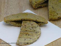 Arnikowa kuchnia: BEZGLUTENOWY CHLEBEK PITA