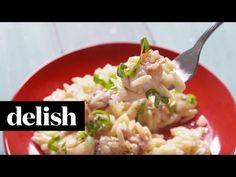Bacon-Shrimp Orzo - Orzotto Recipe