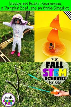 FOUR FUN FALL STEM ACTIVITIES FOR KIDS | FOUR FUN FALL STEM ACTIVITIES FOR KIDS | Jewel Pastor of Jewel's School Gems | Looking for fun fall STEM activities for kids? Well, you came to the right place. Read about three Fall STEM Activities plus get a FREEBIE!