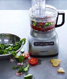 KitchenAid 7 Cup Food Processor + Target GiftCard Giveaway! http://lcknyc.com/1eOEGVd