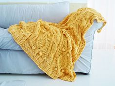 I just really, really want a chunky sweater blanket!