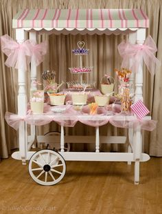 Pretty little sweet table display
