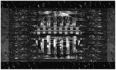 V Untitled, Druk Cyfrowy,   150 x 90 cm, 2012    wojtekobuchowicz.blogspot.com