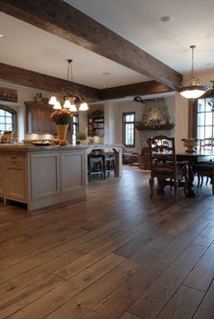 Private Residences - traditional - wood flooring - chicago - Signature Innovations LLC