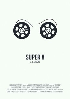 Minimalist Movie Poster: Super 8 by GazVezir
