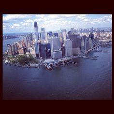 """@benjaminsuhr's photo: """"#New York#helicopter#Manhattan#nice @aeldrup"""""""
