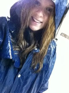 I think I'm falling in love.  I just am not sure if the girl or her raincoat? :)