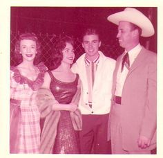 Ricky and Lorrie Collins with Joe Maphis,