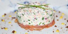 Tapas, Shellfish Recipes, Seafood Recipes, Danish Food, Fish Dishes, Appetizer Recipes, Appetizers, Fish And Seafood, Food Inspiration