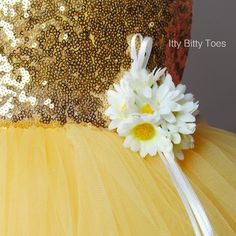 Sarafina Dress (Yellow) - Couture - Itty Bitty Toes