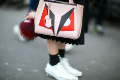 Quirky Bags Were The Number One Street Style Trend This FashionMonth | StyleCaster