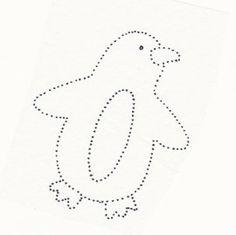 Pinguin kleurplaat o.i.d.