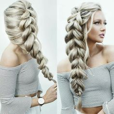 Tail hairstyle