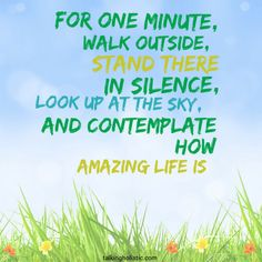 Have a lovely Sunday, and if you have one minute... :-) #gratitude #inspiring