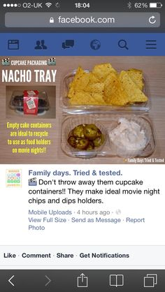Doritos tray