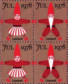 Danish Christmas seals 1978