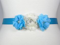 Check out this item in my Etsy shop https://www.etsy.com/listing/245350791/flower-girl-sash-bridesmaid-belt-malibu