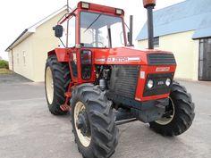 1988 Zetor 8145 Tractors For Sale, Heavy Machinery, Vintage Farm, Rubber Tires, Farming, Childhood, Crystal, Retro, Unique