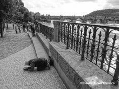 Beggars in Prague