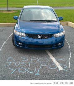 Parkovanie na totálneho debila