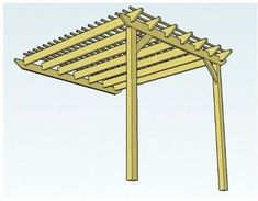 Plans to build Lean To Pergola Plans PDF download Lean to pergola plans Preparation Brace the frame of your lean to pergola diagonally Drive or patio The roof rests on four by four posts on one side
