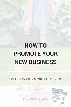 How entrepreneurs are making 6 figures in their first year - they know exactly how to promote their business! A must read for bloggers and new entrepreneurs. You can do it too! Plus a free daily checklist to promote your business and grow your audience!