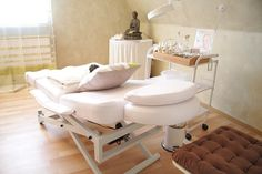 Relaxing massage rooms