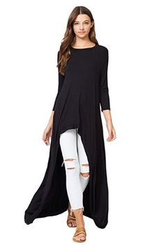 8bae70085e2 online shopping for Annabelle Sleeve High Low Casual Long Maxi Tunic Tops  from top store. See new offer for Annabelle Sleeve High Low Casual Long  Maxi Tunic ...