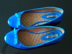 Ballerines Zara Bleues T 40