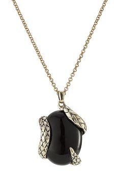 ROBERTO CAVALLI - Necklace with Semi-Precious Stone  STYLEBOP.com