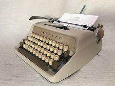 Schreibmaschine Triumph Gabriele 1 capuccino mechanical typewriter