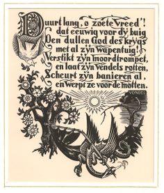 Dirk van Gelder, woodengraving